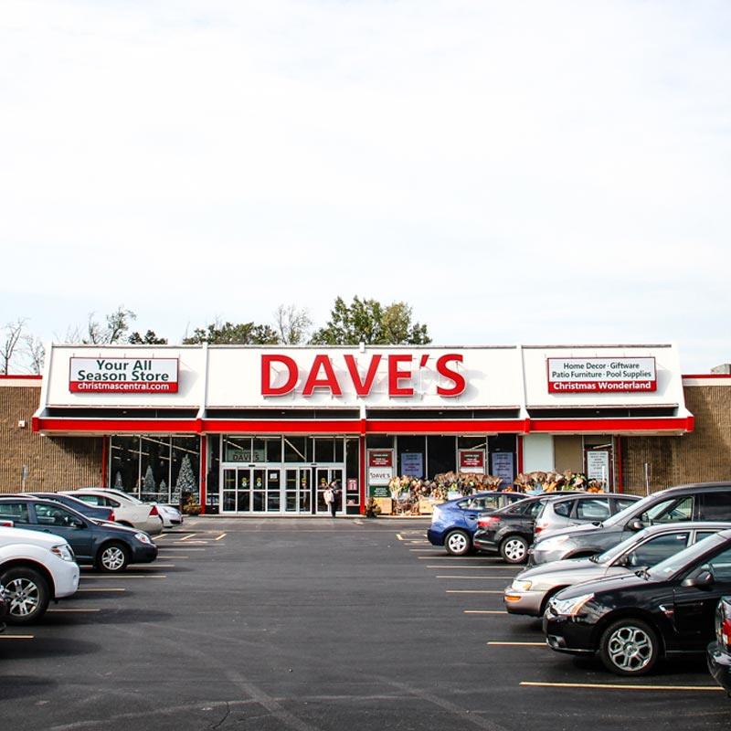 Front Entrance of Depew Store Location