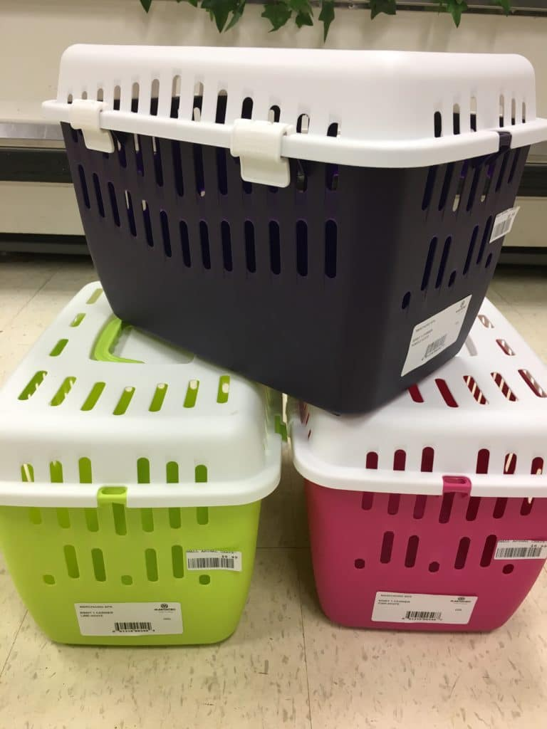 Green, Pink & Black Animal Cages