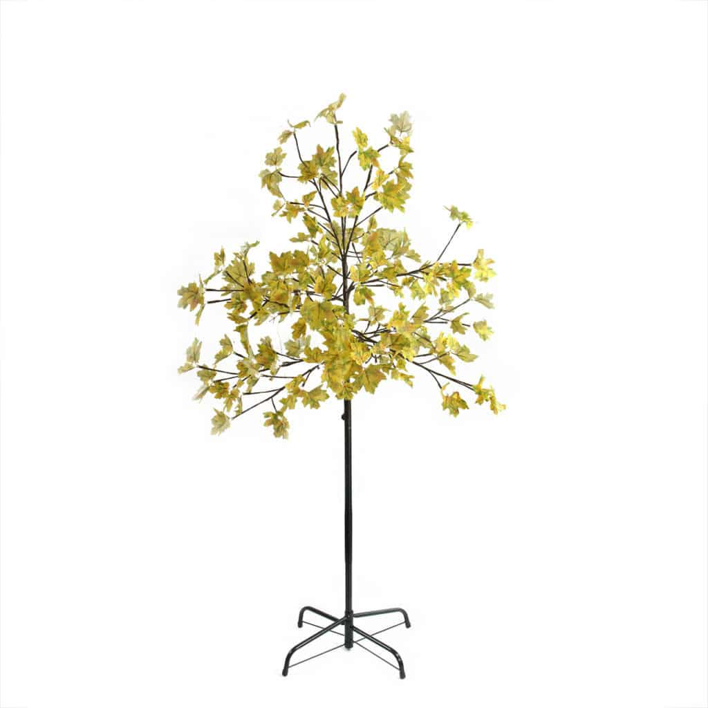 Gold Artificial Home Decor Tree