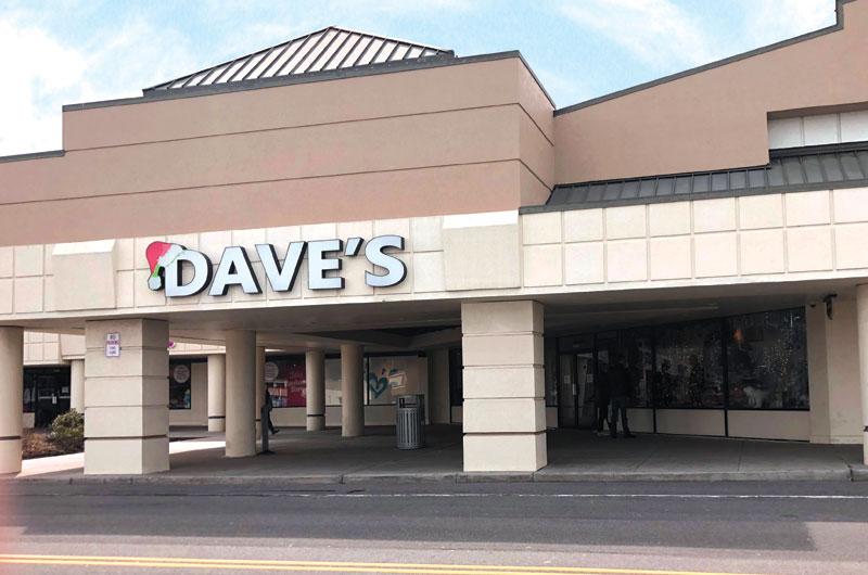 Dave's Niagara Falls Location Outdoor Entrance