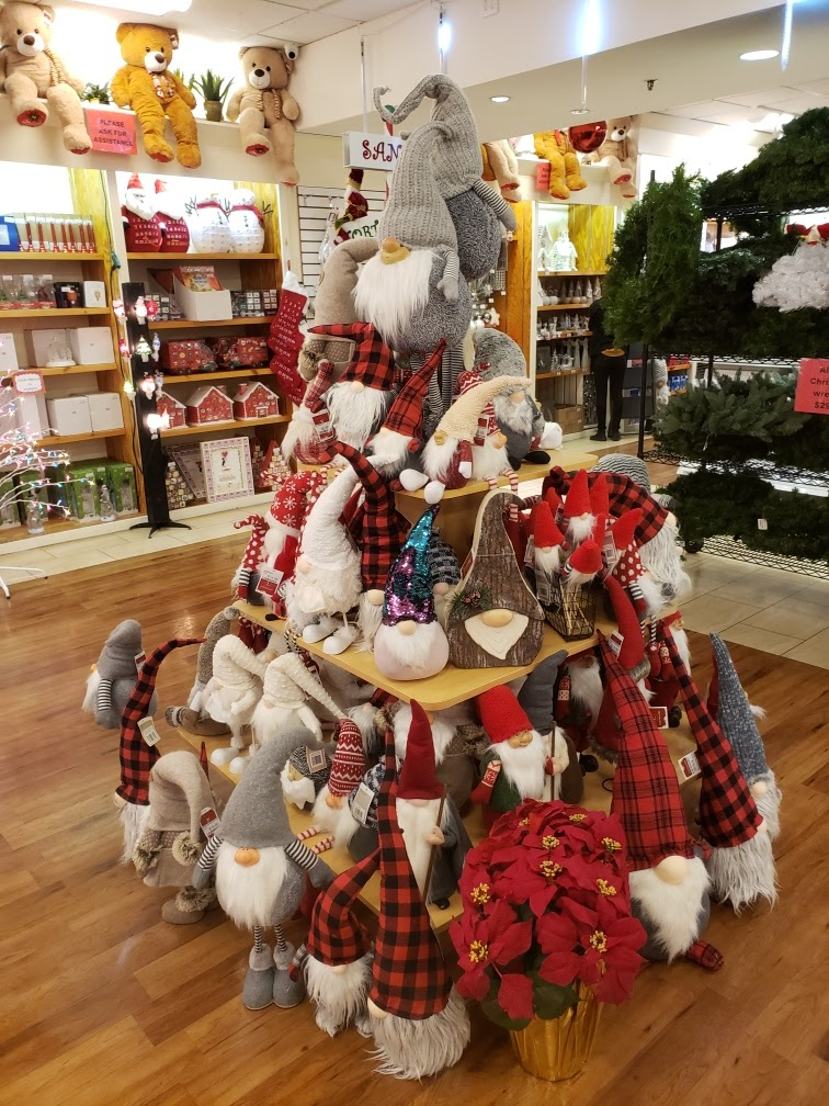 Christmas Gnome Display