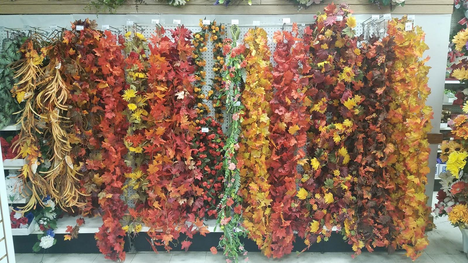 Artificial Leaf Garlands