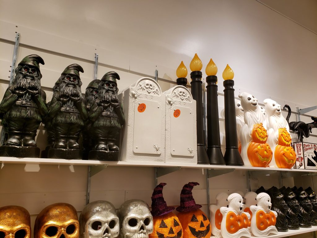 Halloween Decorations on Display In Store
