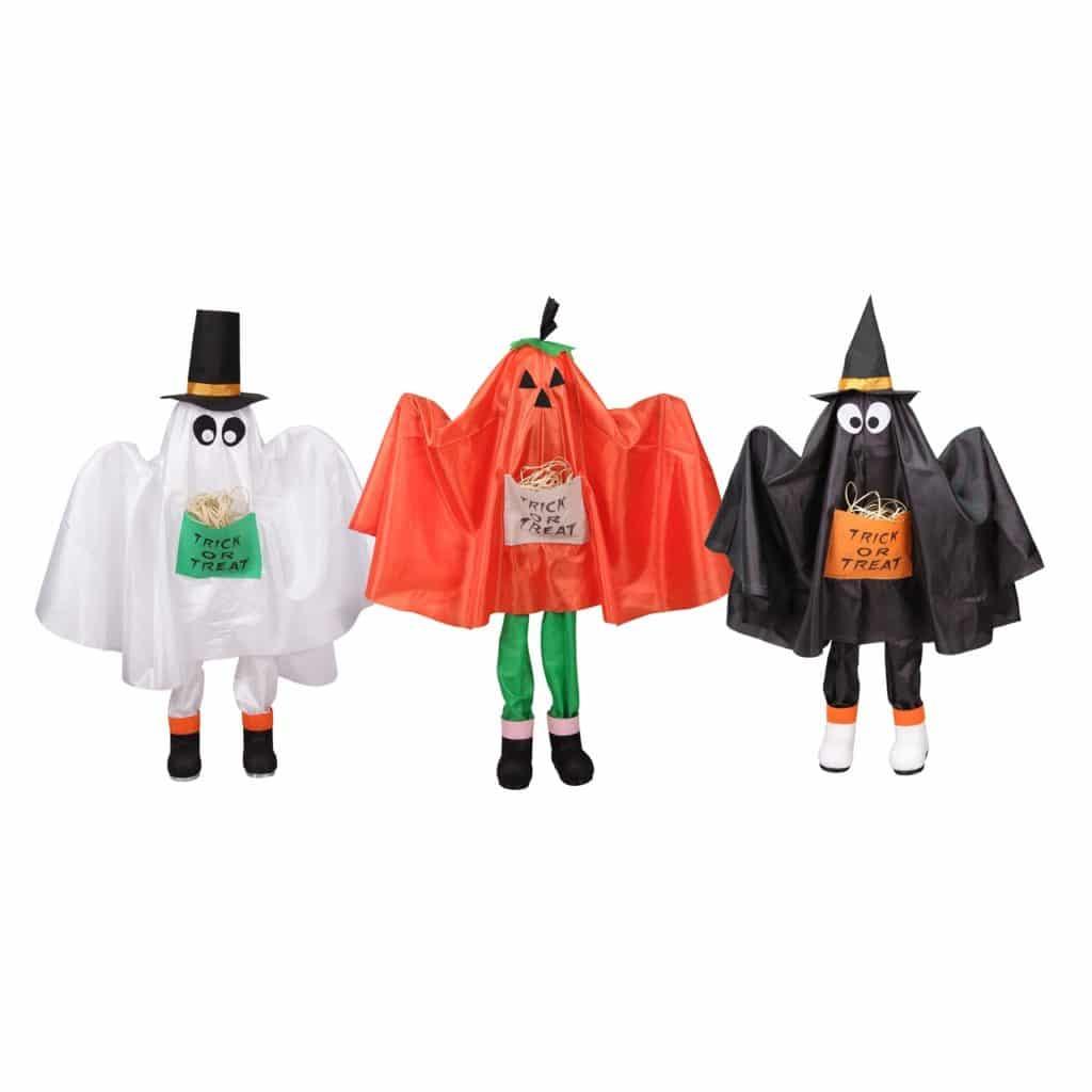 Three Outdoor Halloween Decorations