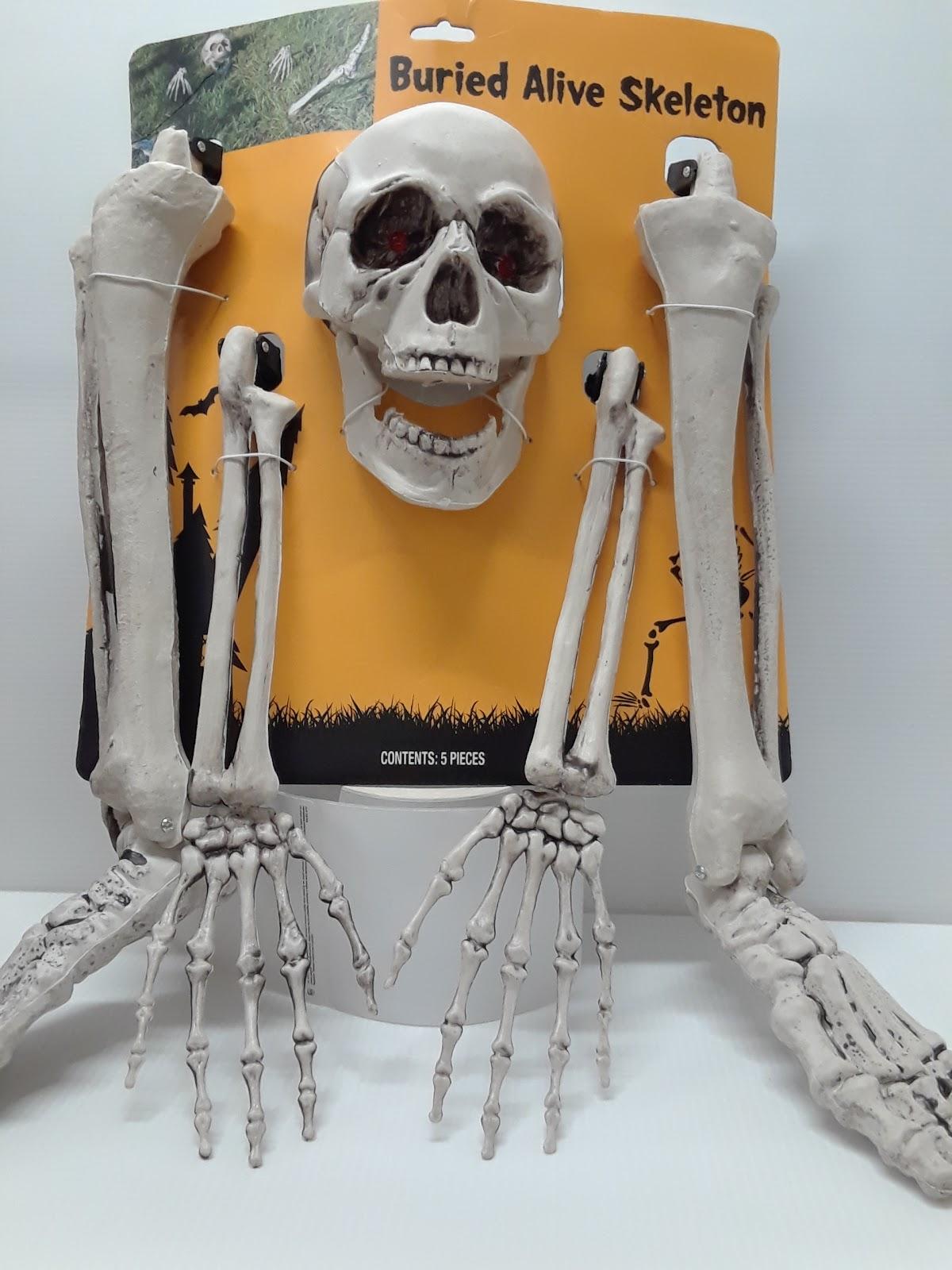 Buried Alive Skeleton Outdoor Decoration
