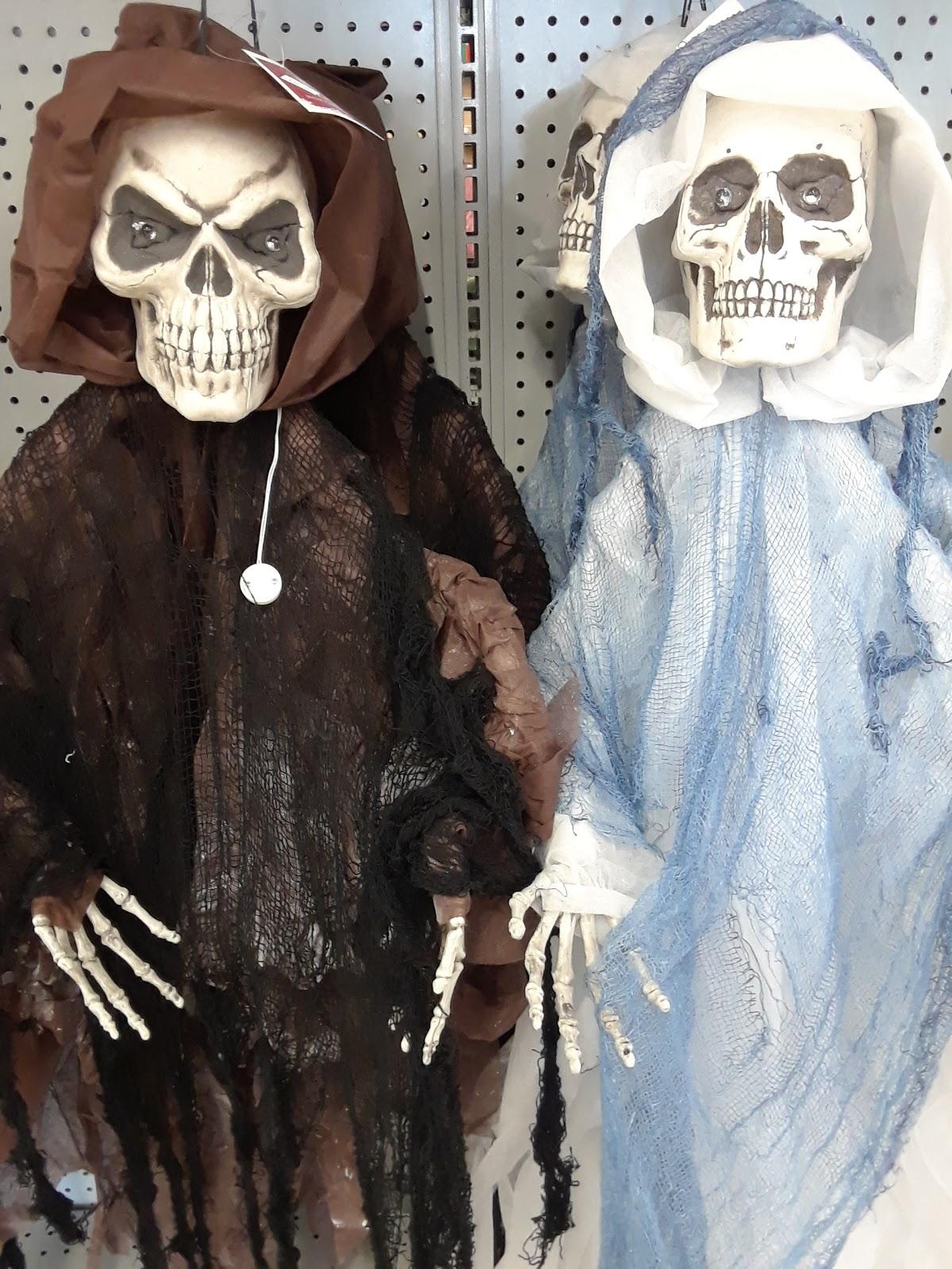 Skeleton Decorations On Display