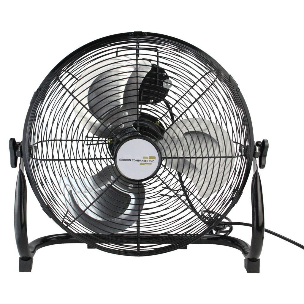 Black Floor Fan