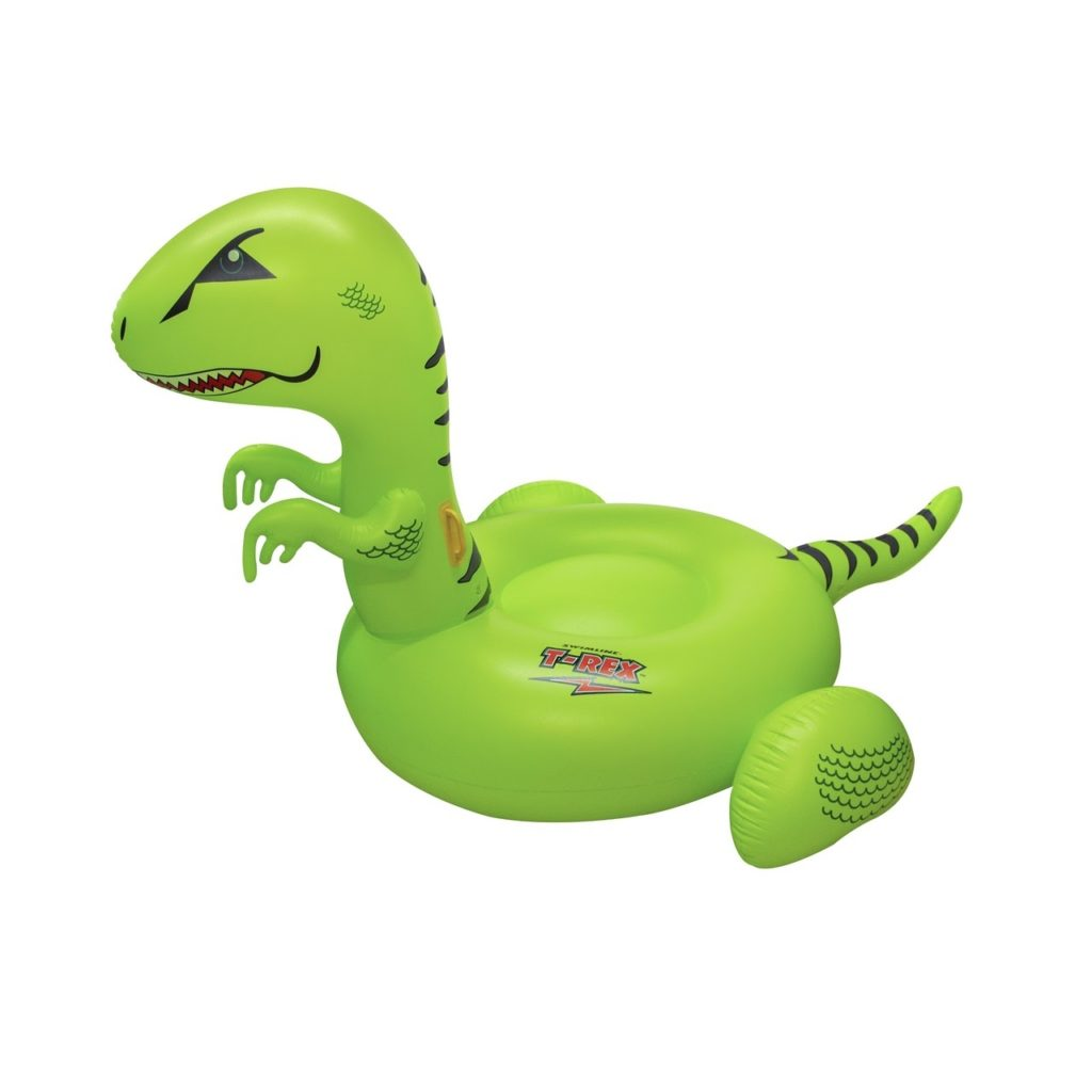 Green Dinosaur Pool Float