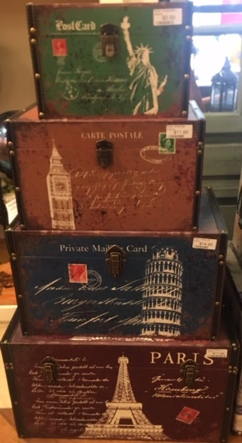 Decorative Storage Boxes on Display