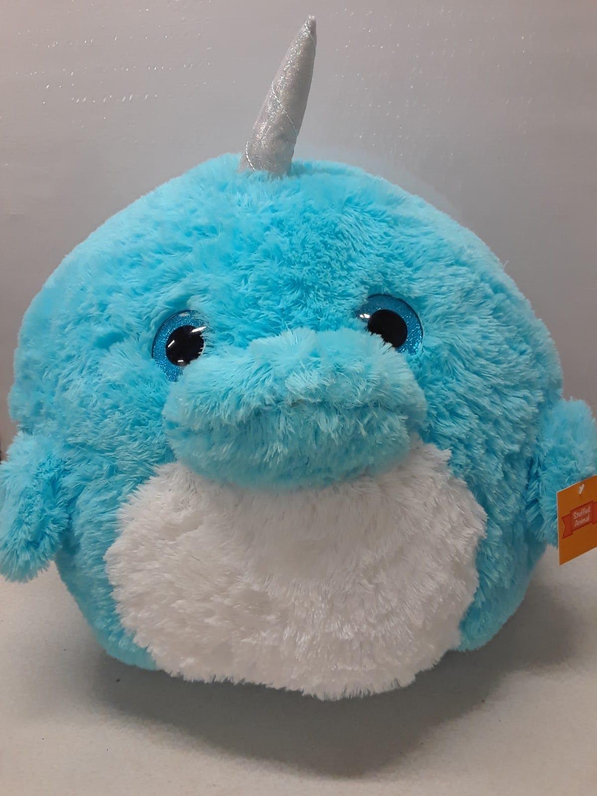 Blue Stuffed Animal Narwhal
