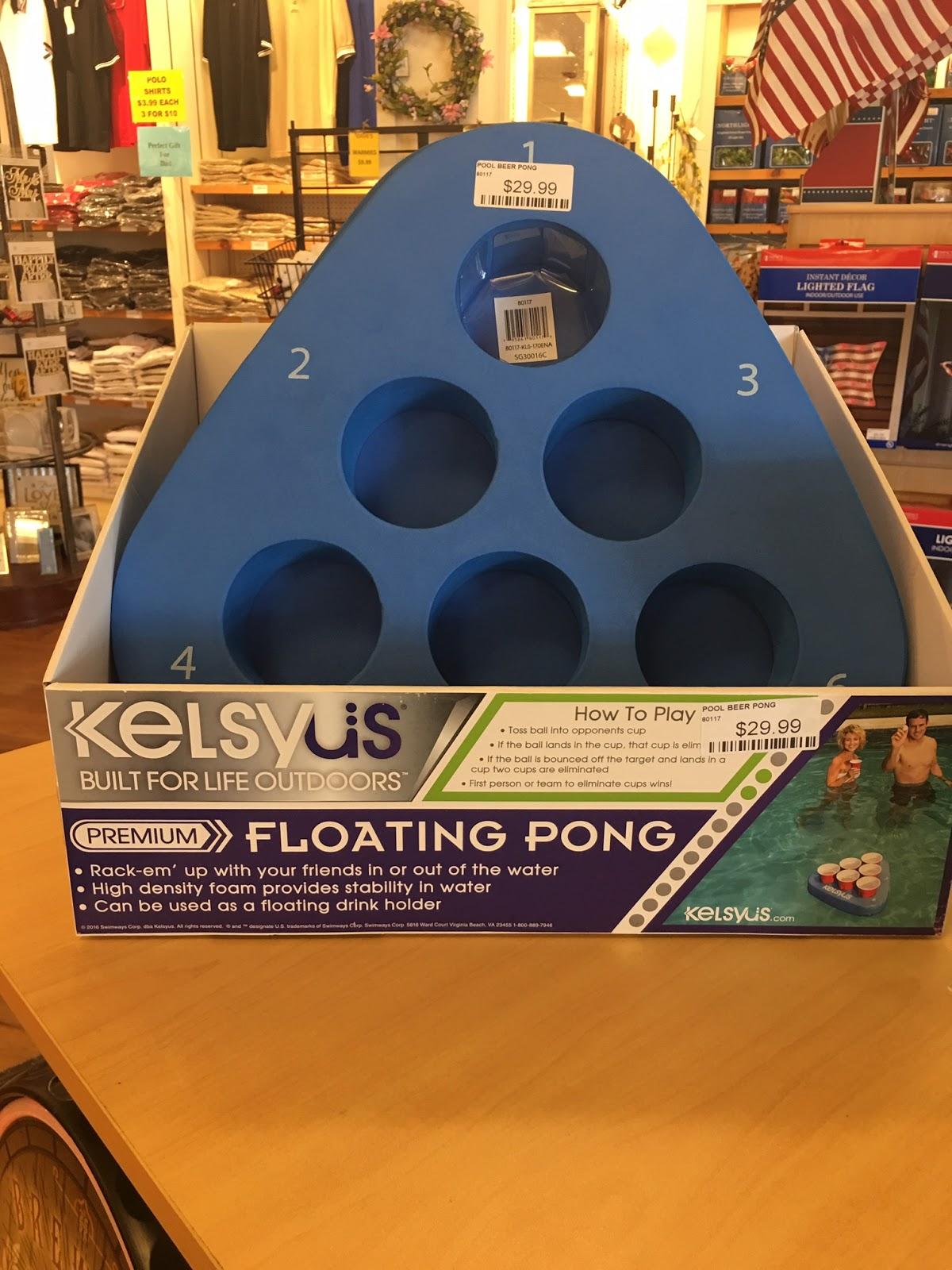 Pool Floating Pong Game