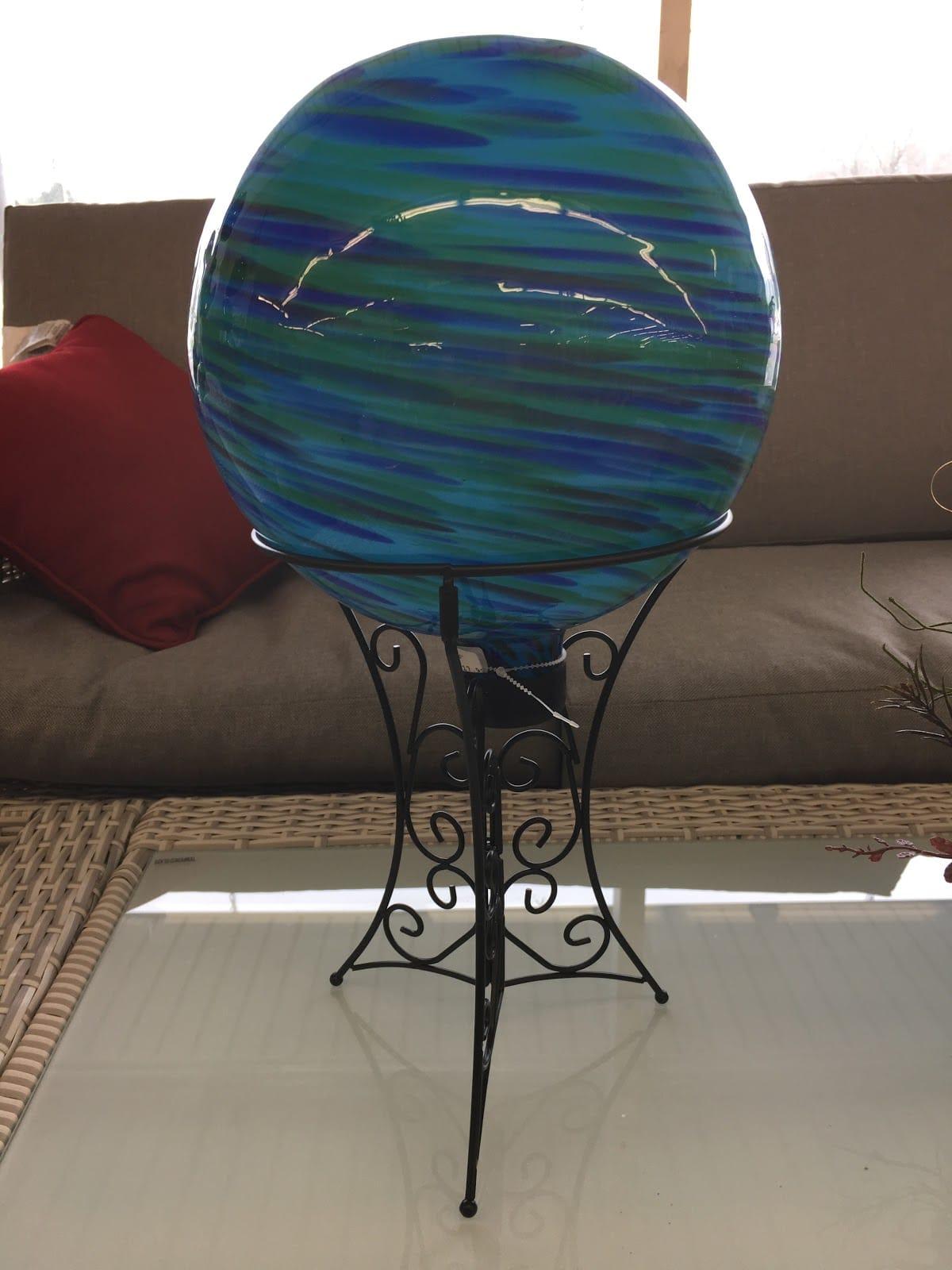 Blue & Green Glazing Ball