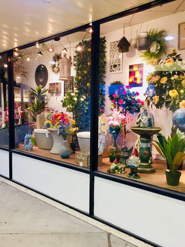 Spring Decor Window Display