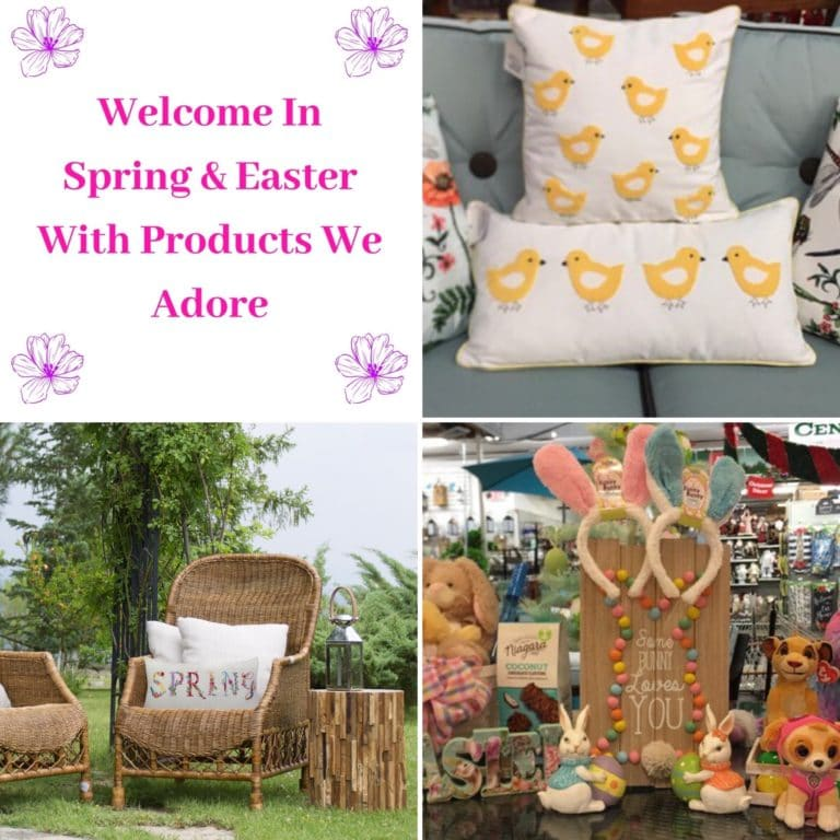 Welcome to Spring & Easter With Products We Adore