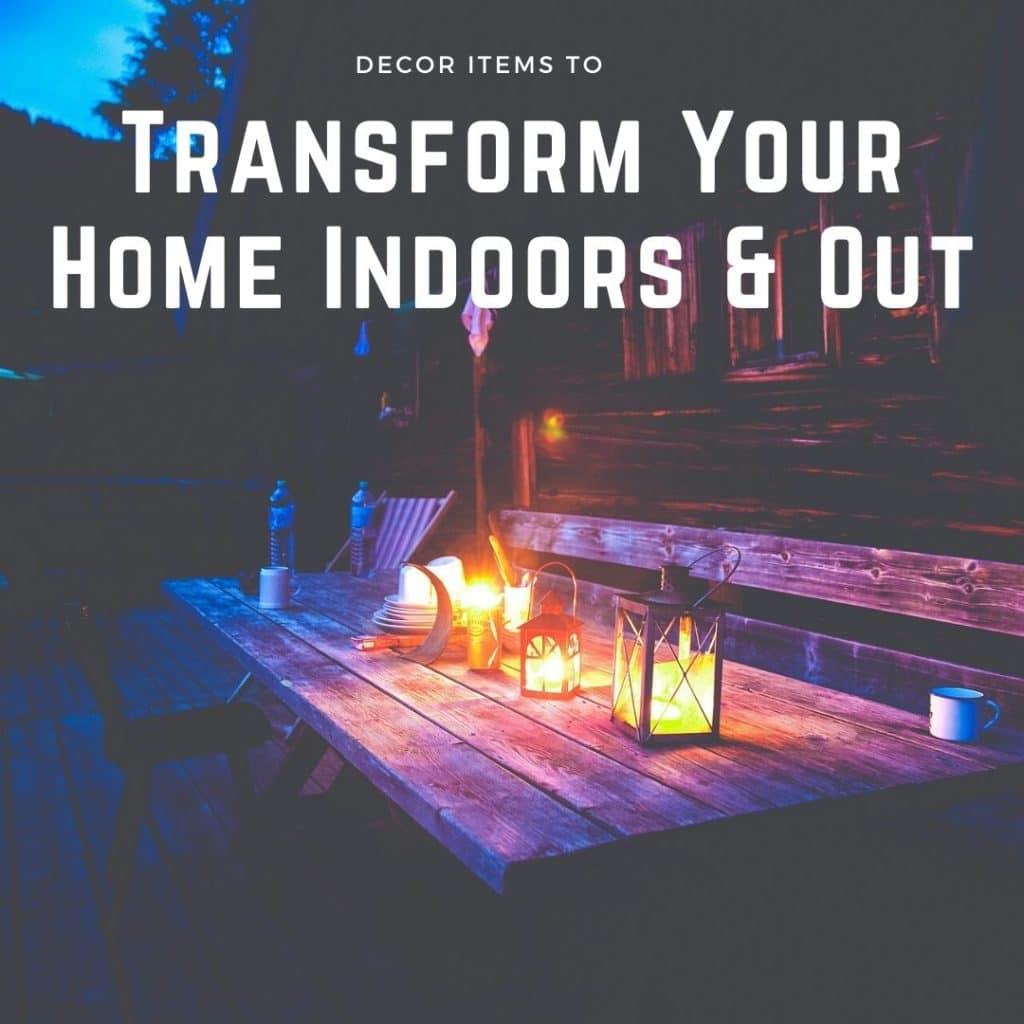 Decor Items To Transform Your Home